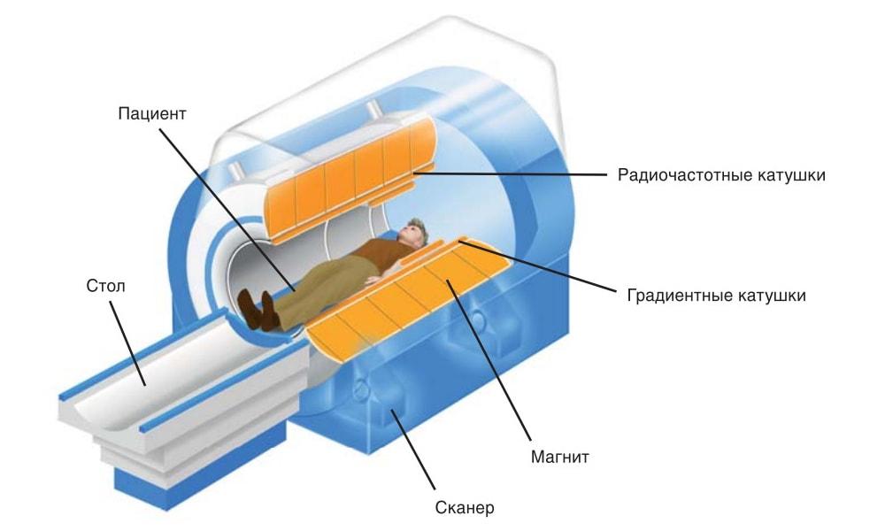 томограф закрытого типа